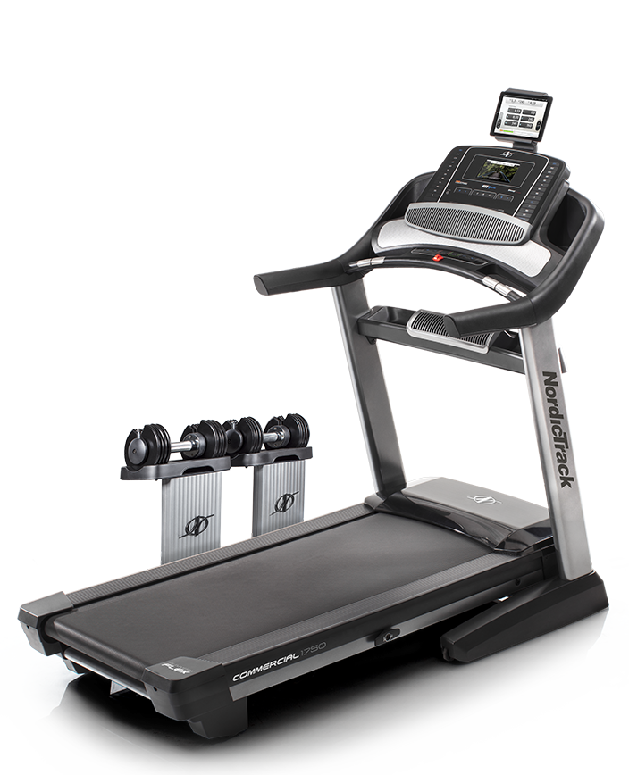 NordicTrack Commercial 1750 With Adjustable Dumbbells