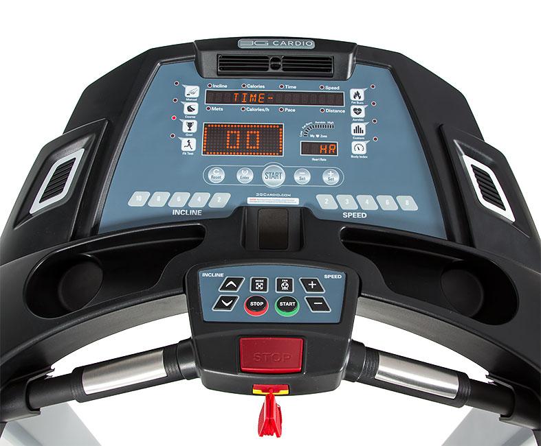 3G Cardio Treadmill Console - Close Up