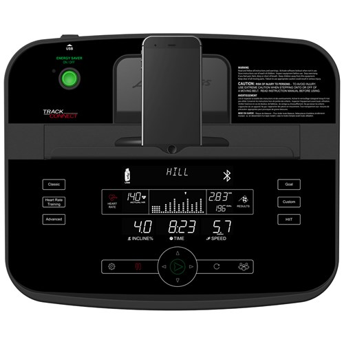 Life Fitness T5 Track Console