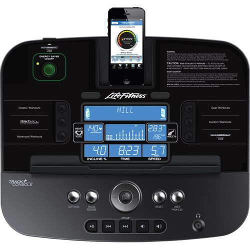 Life Fitness T5 Console
