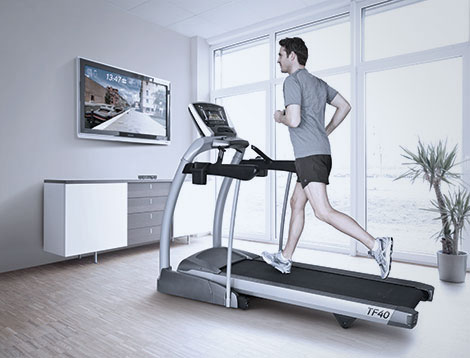 Horizon Adventure 5 Treadmill With Passport Video