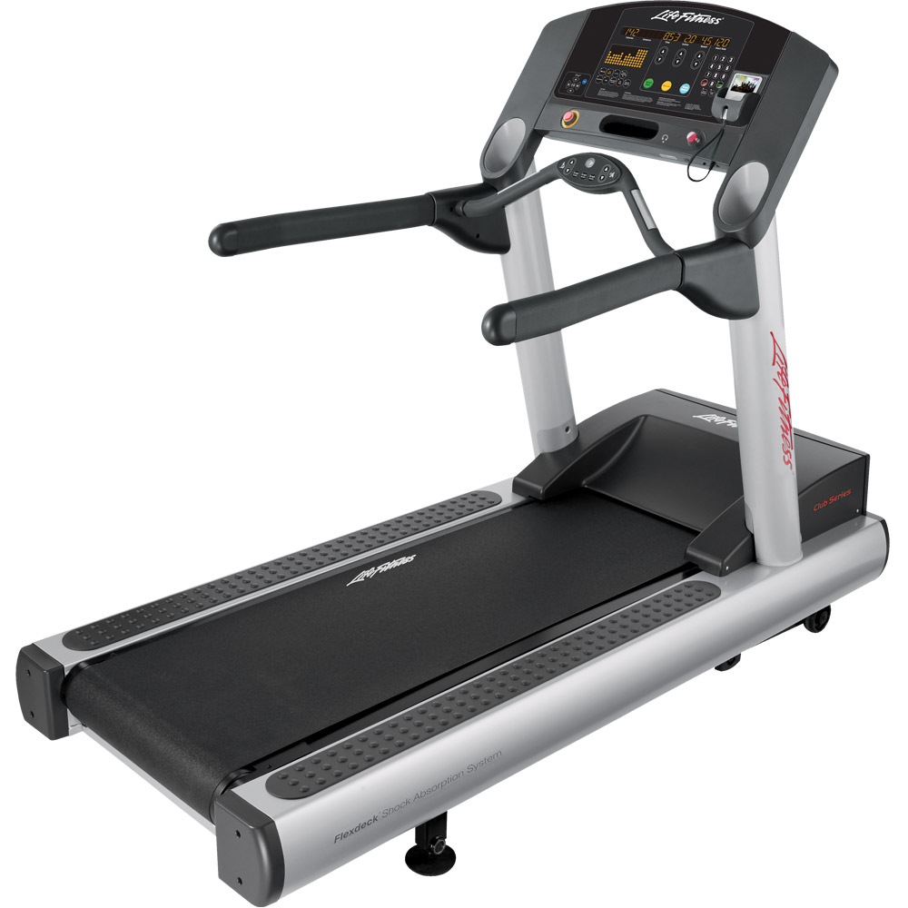Best Treadmill for Pros/Heavy Runners-Life Fitness Club Series