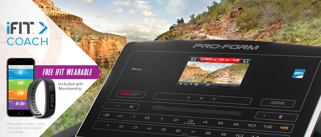 Proform Pro 5000 Console