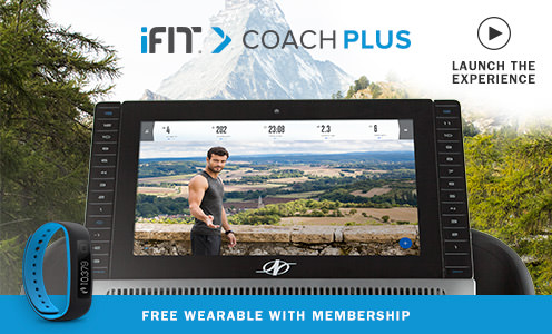 NordicTrack iFit Coach Touch Screen Display
