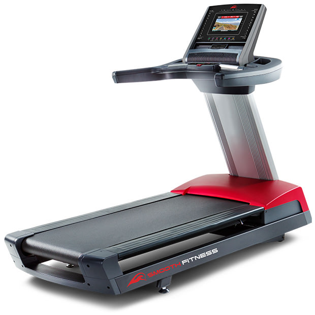 Smooth 13.75 TL Treadmill With Red Accents