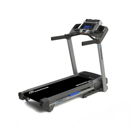 Nautilus T614 Treadmill Side View