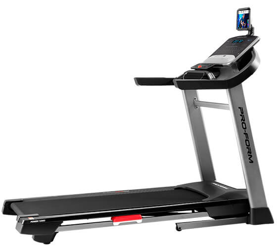 ProForm Power 1295i Treadmill with iFit Coach workouts, tracking capability and bright display