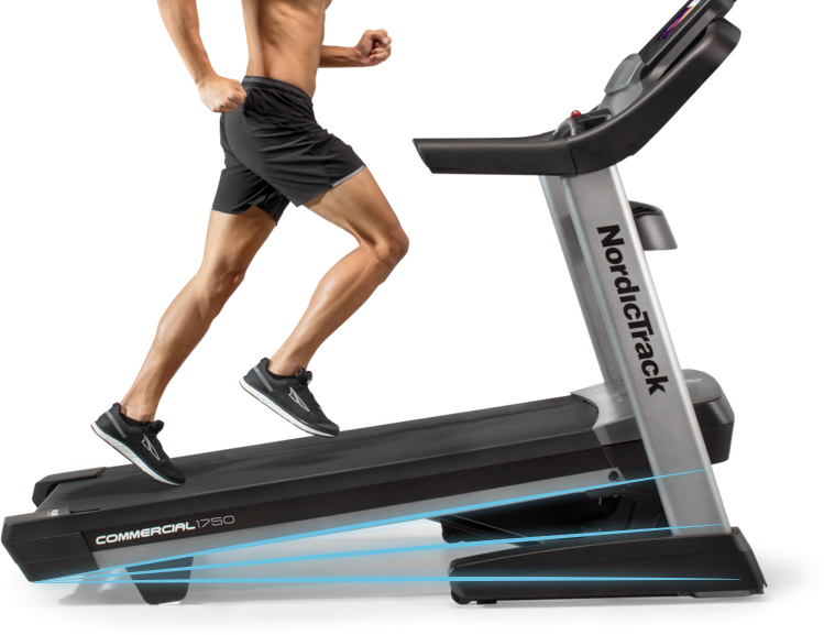 NordicTrack 1750 - Incline and Decline Capability