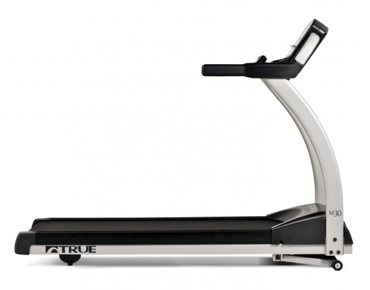 True M30 Treadmill Side View