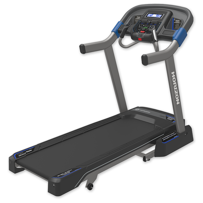 Horizon 7.8 AT Treadmill - Strong motor and rapid incline