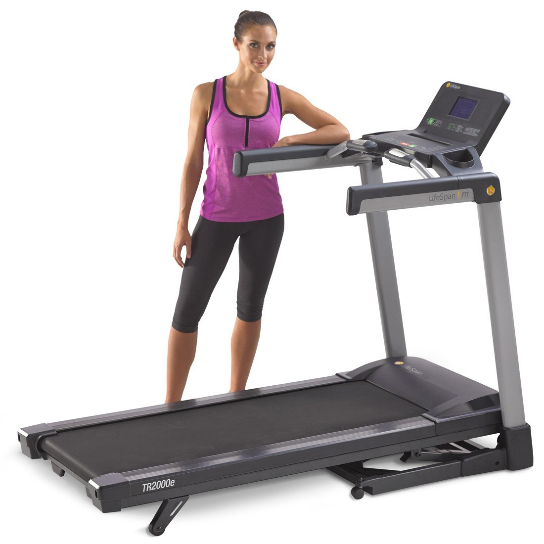 Lifespan TR2000e Folding Treadmill