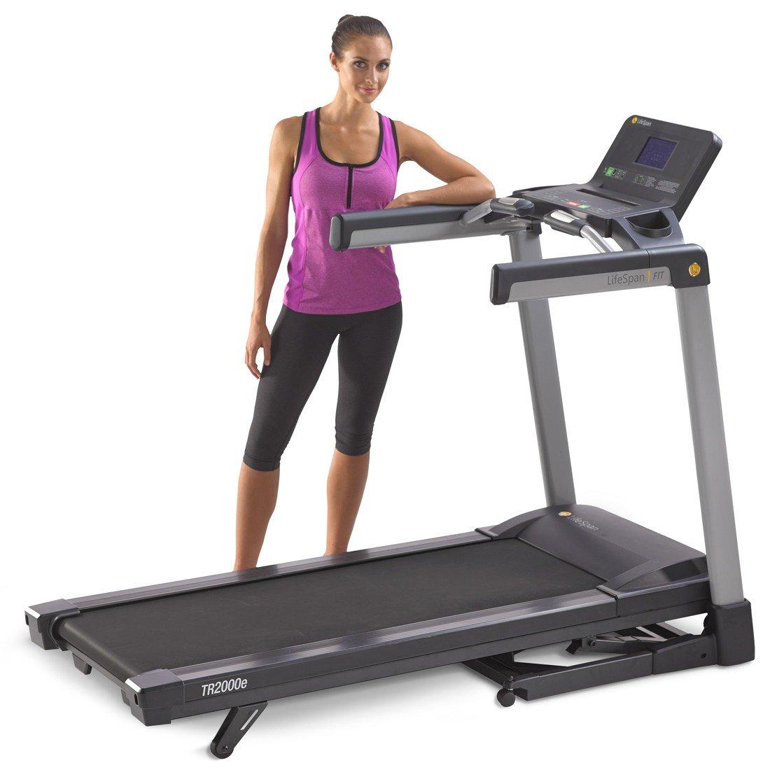 Lifespan TR2000e Folding Treadmill