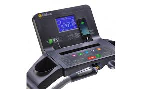 LifeSpan Treadmill Blue Backlit Console