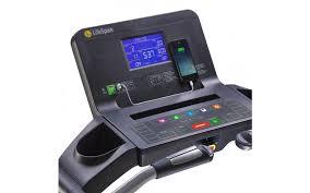 LifeSpan Treadmill Blue Backlit Console