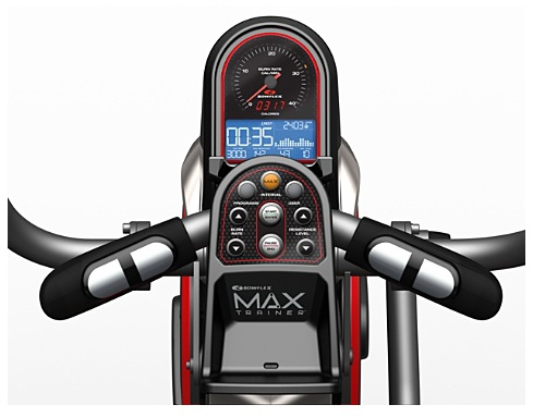 Max Trainer Burn Meter Display