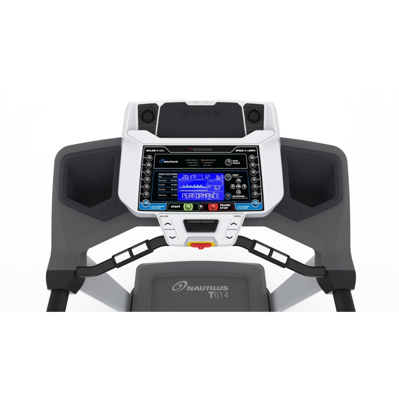 Nautilus T614 Treadmill Console