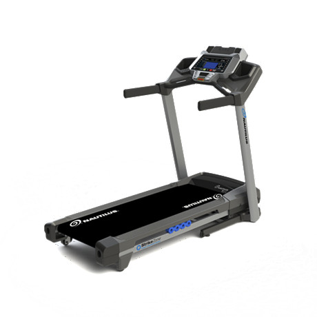 Nautilus T614 Treadmill Side View