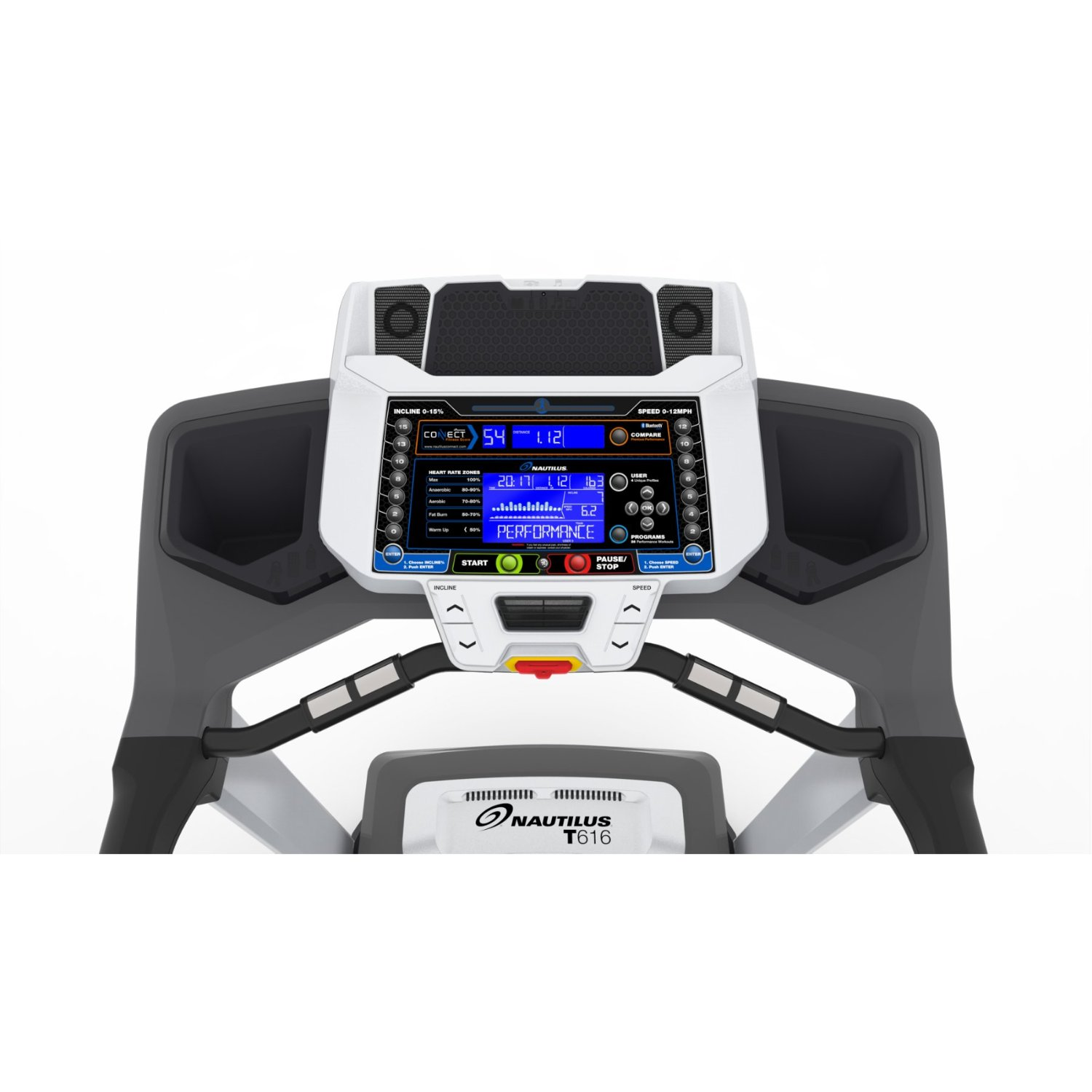 Nautilus T616 Treadmill Console and Display