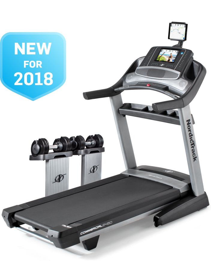 NordicTrack Commercial 2450 Treadmill - 2018