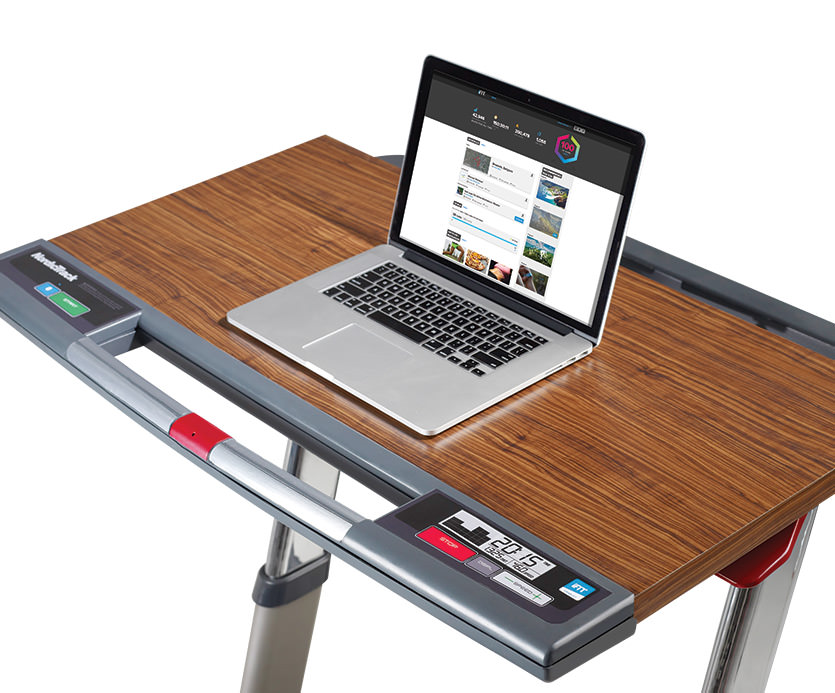 Nordictrack Treadmill Desk Platinum Closer Look