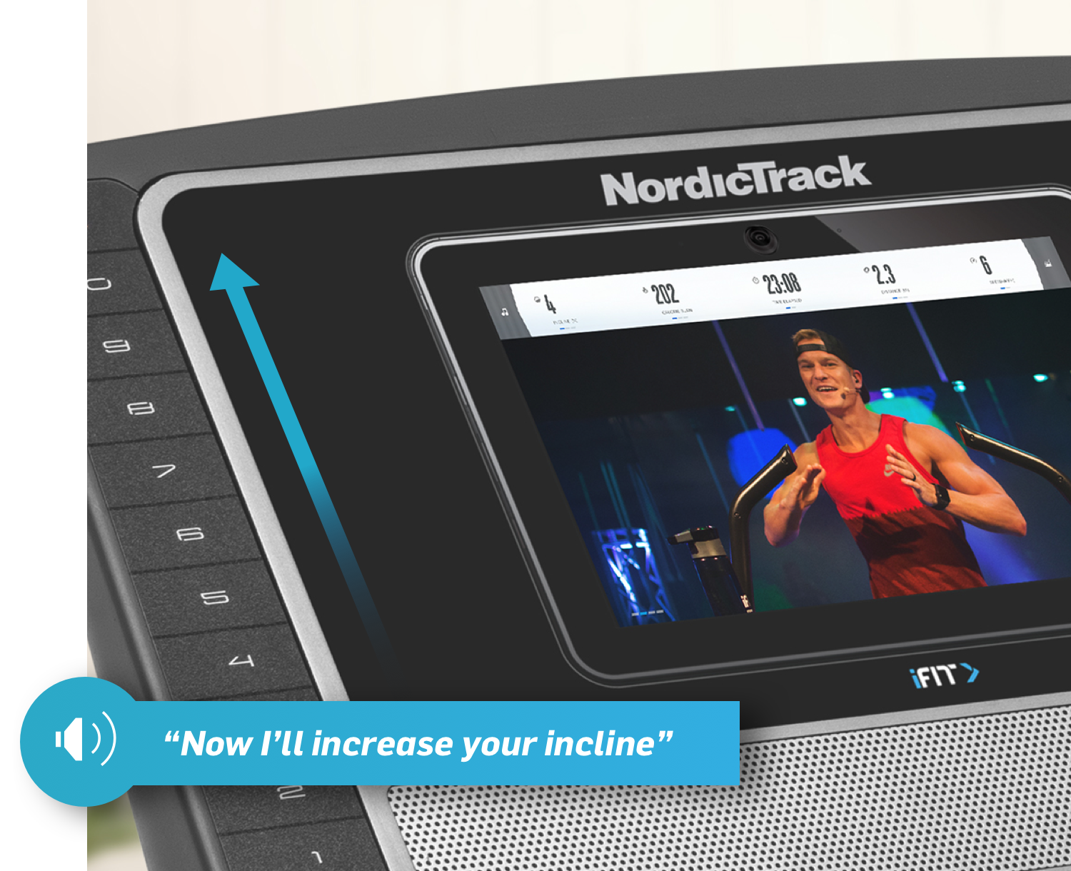 NordicTrack T 8.5 S Console - Small Version