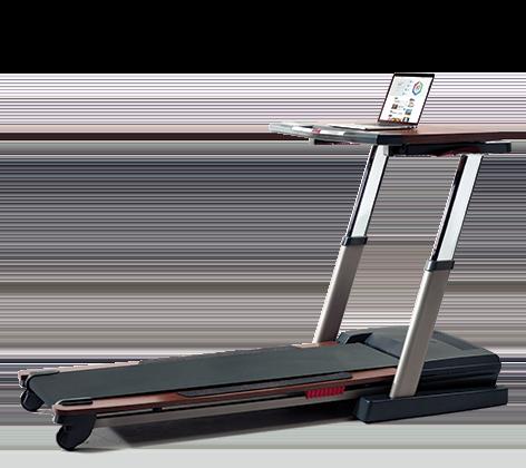 The New Nordictrack Treadmill Desk Platinum Series Ups The