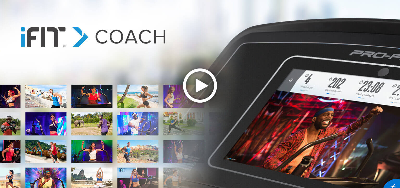 ProForm Performance 400i Console With Touch Screen and iFit Coach