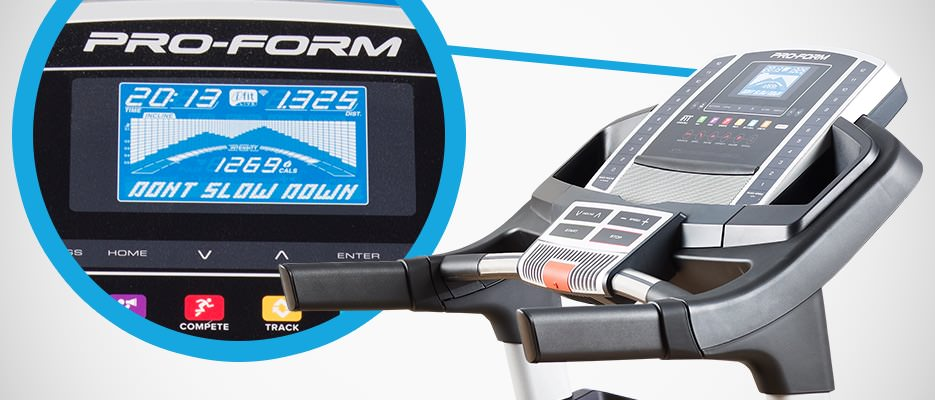 ProForm Power 795 Console