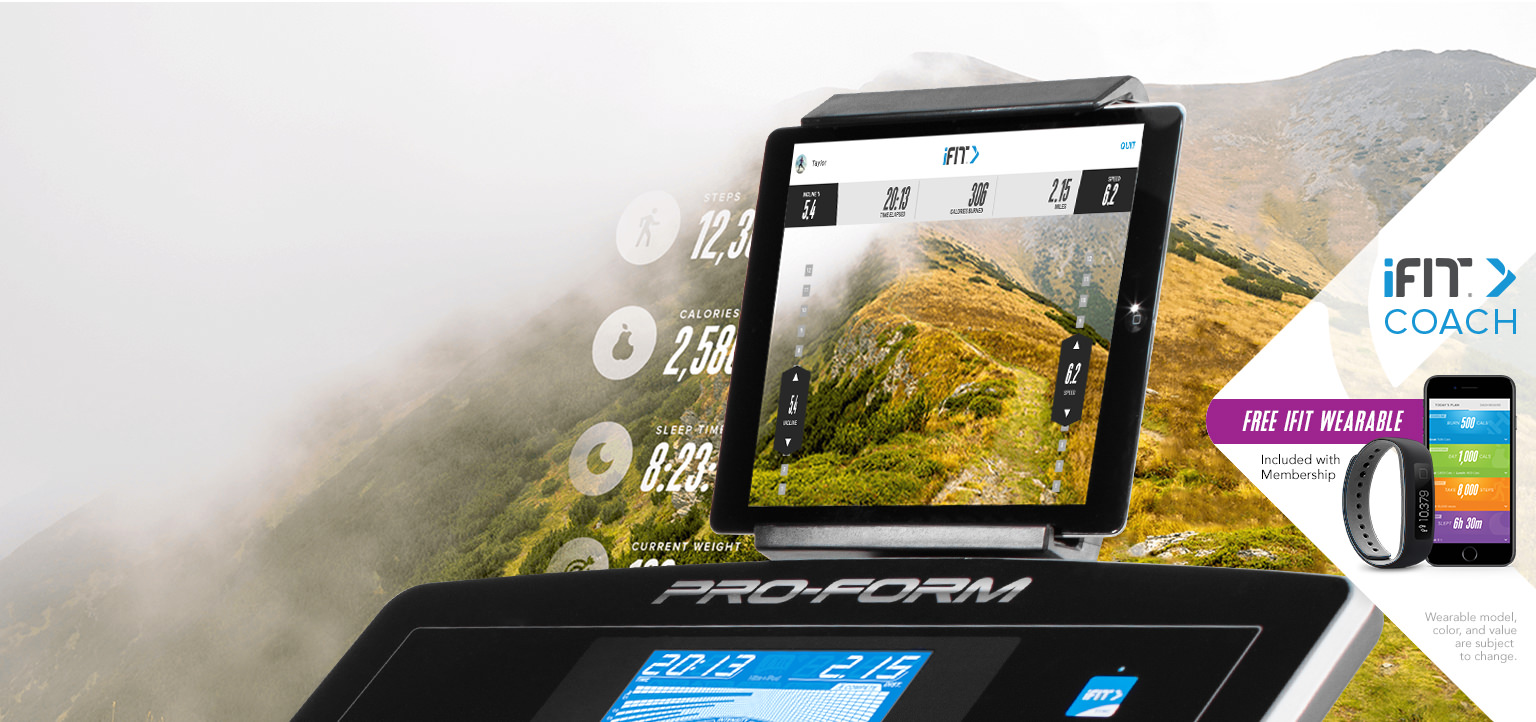 ProForm Pro 2000 iFit Coach Capability with Google Maps