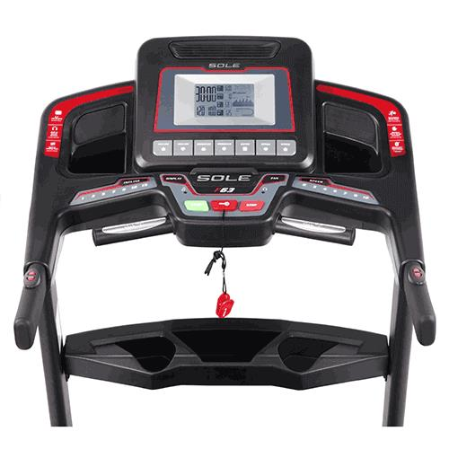 Sole Fitness F63 Treadmill Console