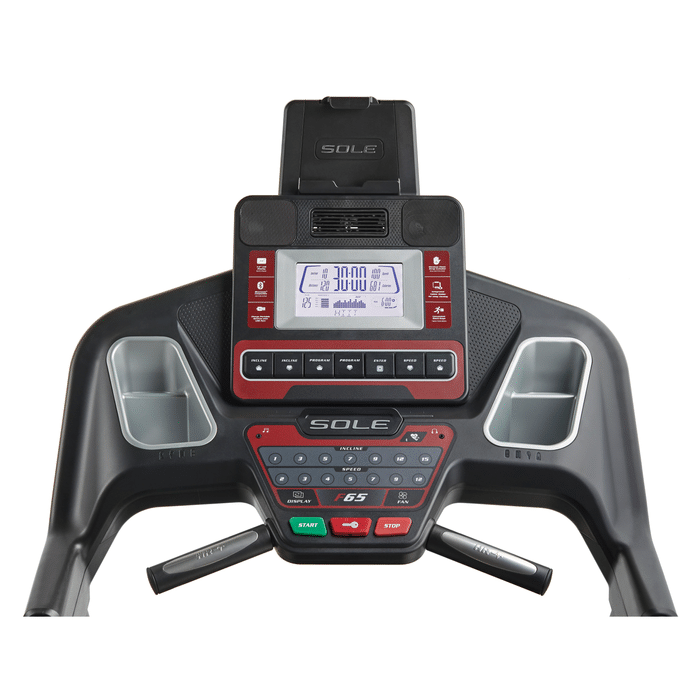 Sole Fitness F65 Console With 10 Built In Workouts