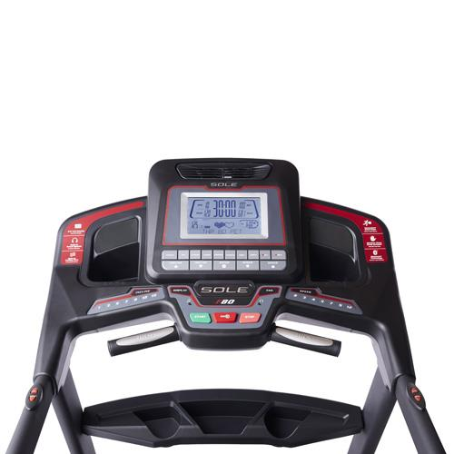 Sole F80 Folding Treadmill Console