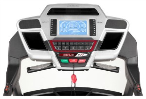 Sole S77 Treadmill Console