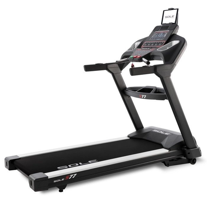 Sole S77 Treadmill - Non Folding With 15% Incline Capability and Heart Rate Control Programs