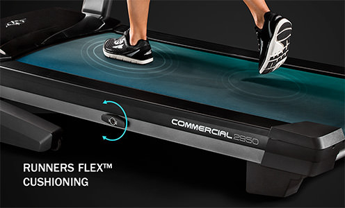 Treadmill Cushioning