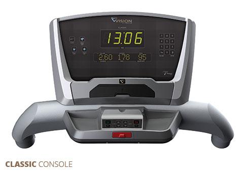 Vision Treadmills Classic Console
