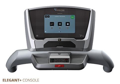 Vision Treadmills Elegant + Console