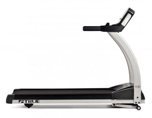 True M30 Treadmill Side View
