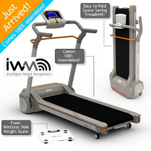 Yowza Lido Folding Treadmill